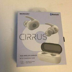 Mercury Cirrus True Wireless Earbuds - New Bluetooth Headphones for Sale in San Diego, CA