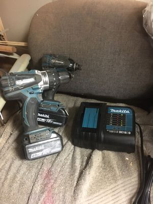 Milwaukee 18v hammer drill and impact driver for Sale in Round Rock, TX