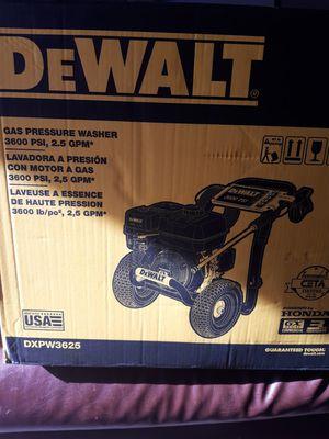 De Walt Gas pressure washer for Sale in Huntington Beach, CA