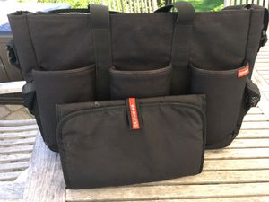 Skip Hop duo double diaper bag for Sale in Concord, MA