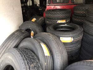 Commercial tire sale mobile installation available Drive Haul Steer Traction Trailer tire tires for Sale in West Palm Beach, FL