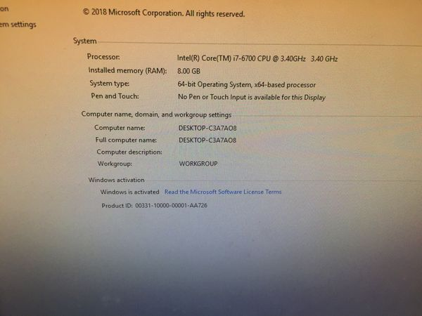 Built gaming computer