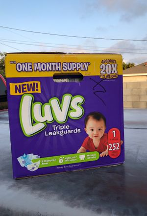 Diapers Size 1 for Sale in Santa Ana, CA