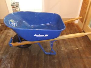 Jackson ProGrade 6cu ft Steel Tray Wheelbarrow for Sale in Hernando, MS