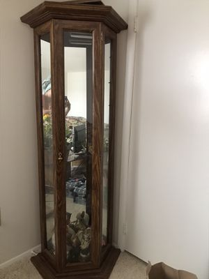Curio Corner Cabinet / China Cabinet for Sale in Manassas, VA