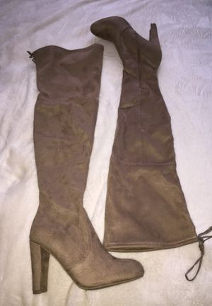 Thigh High Suede Boots for Sale in Nashville, TN