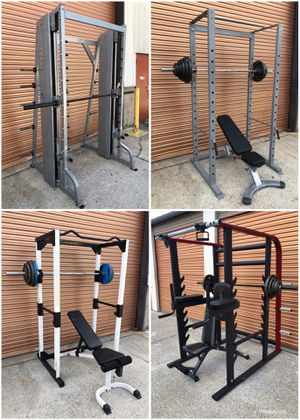 Squat Racks, Home Gym, Smith Machines, Functional Trainers, Benches Olympic Weight Sets for Sale in Davenport, FL