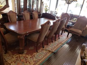 AICO by Michael Amini Morocco 9PC rectangular dining room set for Sale in Fort Lauderdale, FL