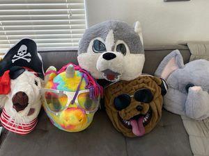 Maskimals costume masks for Sale in Maricopa, AZ