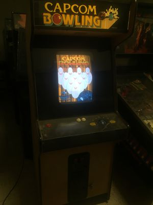 Classic Capcom Bowling Arcade for Sale in Frederick, MD
