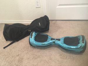 Hoverboard UL 2272 certified flash wheel 6.5 bluetooth speaker with a waterproof backpack for Sale in San Antonio, TX