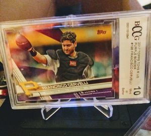 Pittsburgh Pirates Topps Francisco Cervelli #198 for Sale in New Albany, IN