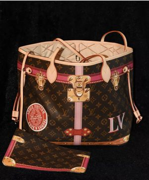 Louis Vuitton neverfull monogram tote purse bag LV for Sale in Austin, TX