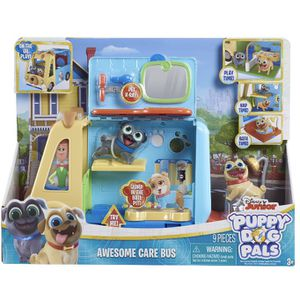 Disney Junior Puppy Dog Pals Awesome Care Bus 9 Pieces Play Toy 3+ Kid Children for Sale in Mableton, GA
