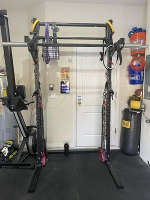 Squat Stand with Pull Up Bar and Spotter Arms for Sale in Tampa, FL