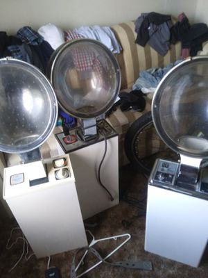3 old working salon hair dryers for Sale in Parkersburg, WV