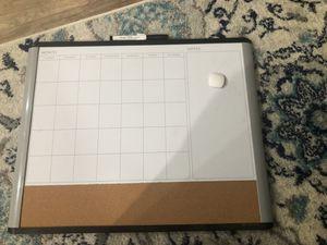 Dry erase calendar for Sale in Bailey's Crossroads, VA