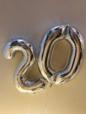20 Birthay Helium Balloon! for Sale in Manassas, VA