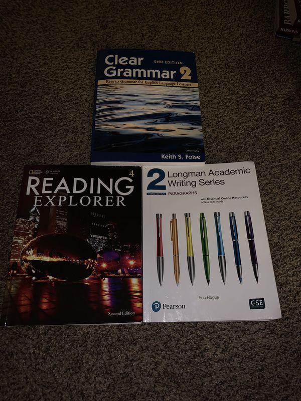 English basics books.