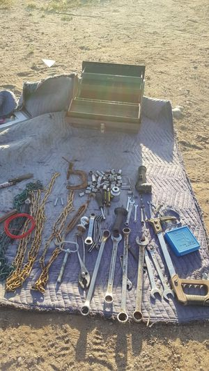 Different tools and metal tool box for Sale in Avondale, AZ