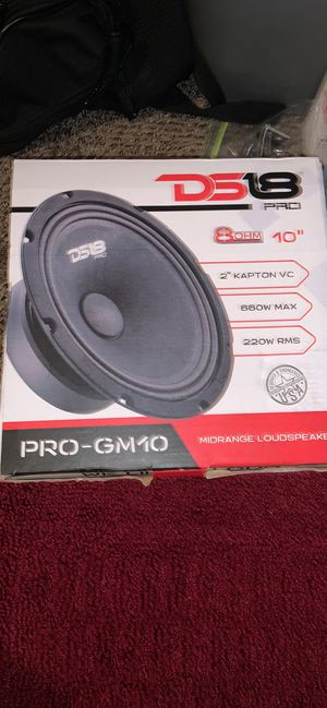 Ds18 10 inch speakers for Sale in Tampa, FL