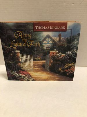 Thomas Kinkade Along the Lighted Path hardcover book for Sale in Albany, OR
