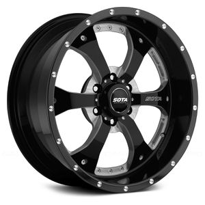 2004 - 2020 Ford F150 Sota Novakane Death Metal wheels for Sale in La Porte, TX