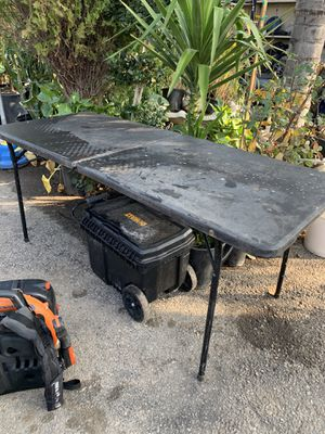 Foldable table for Sale in Highland, CA