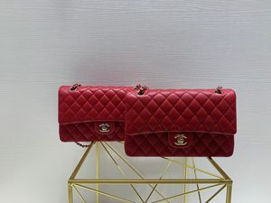25cm Chanel bag Medium Red Caviar /silver or gold hardware for Sale in New York, NY