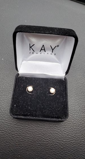 Kqy Jewelers Diamond Earrings for Sale in Parkland, WA
