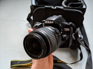 Nikon D3200 Camera Kit with 2 Lenses for Sale in Chicago, IL