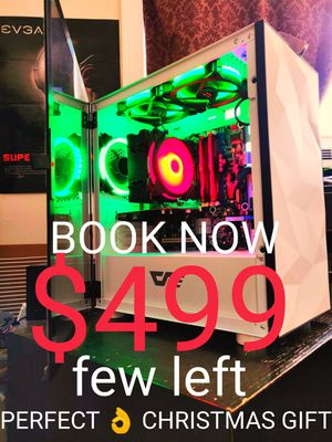 BOOK YOUR GAMING PC NOW! $499 ONLY! PERFECT CHRISTMAS GIFT! for Sale in Queens, NY