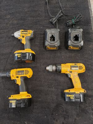 DeWalt battery power hand tools for Sale in Lake Tapps, WA