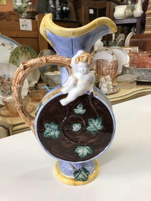 Vintage Italian majolica pitcher for Sale in San Diego, CA