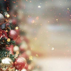 Christmas Glitter Background Winter Backdrops for Photography Christmas Tree Holiday Family Kids Newborn Photo Booth Backdrop Props 9x6ft for Sale in Rialto, CA