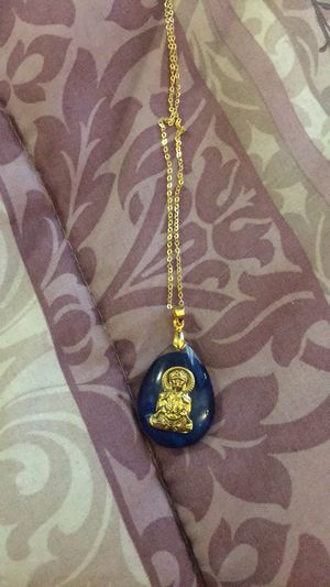 Good luck charm with the pendant if you want to chain is included with the price for Sale in Brooklyn, NY