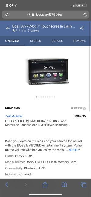 Bose radio double din for Sale in Chicago, IL