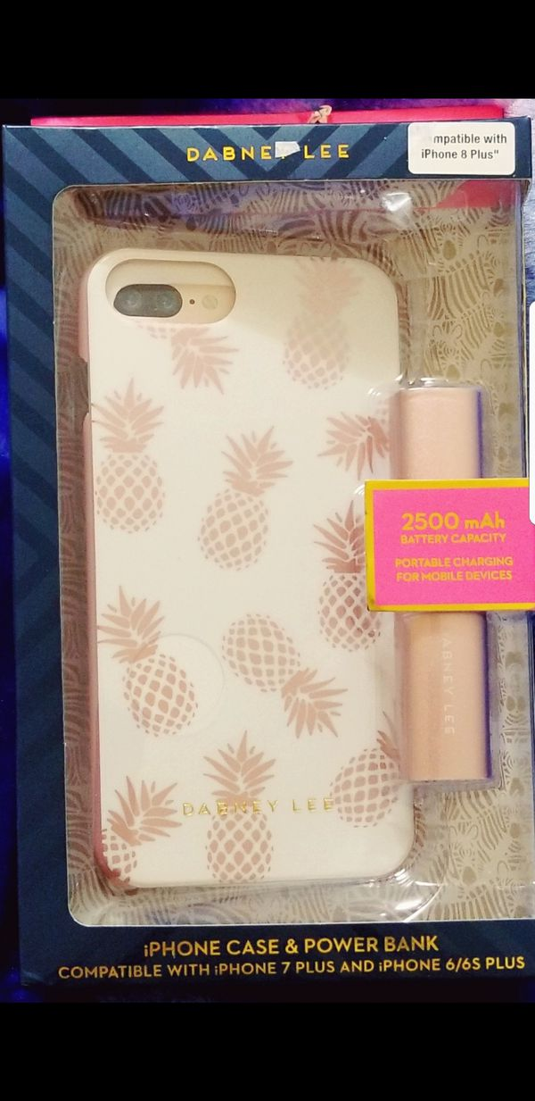 iphone case and power bank