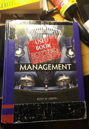 Management 11th Editions Ricky W. Griffin for Sale in New York, NY
