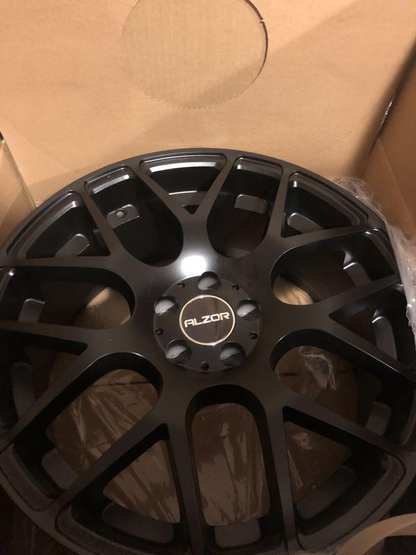 5x100 18x8 brand new wheels $600