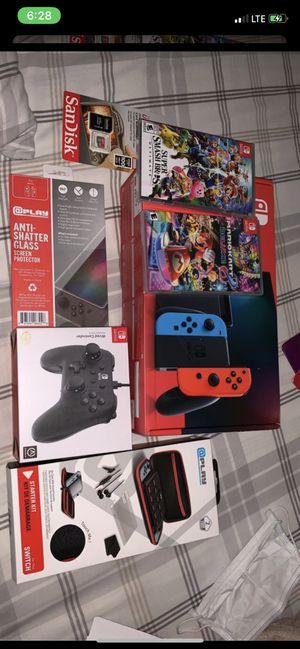 Nintendo switch bundle for Sale in Adelphi, MD