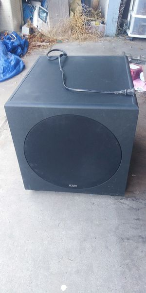 Very large subwoofer for Sale in Fresno, CA
