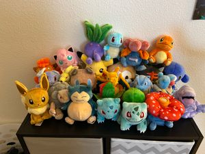 Pokémon Plushes for Sale in Placentia, CA