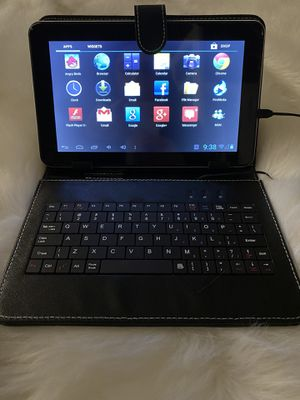 Tablet with keyboard for Sale in Downey, CA