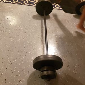 weight and bar for Sale in Lawrenceville, GA