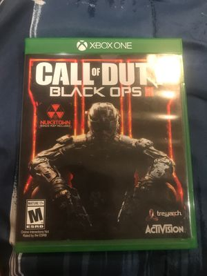 Black ops 3 Xbox one for Sale in Glendale, CA