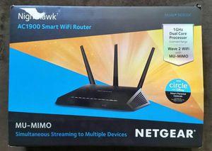 Netgear Nighthawk MU-MIMO Router for Sale in Riverside, CA