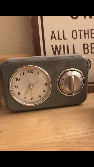 Urban outfitters Vintage looking alarm clock for Sale in San Diego, CA