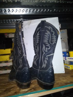 Justin ostrich boots for Sale in Everett, WA
