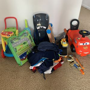 Boys Clothes, Toys, And Cars for Sale in Fresno, CA